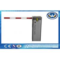 Buy cheap 6m Straight Arm Vehicle Barrier Gate , Traffic Arm Barriers Customized from wholesalers