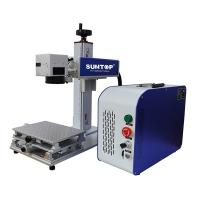 Buy cheap Cnc Drilling Portable Laser Engraving Machine On Brass Steel Sheet 50 Watt from wholesalers