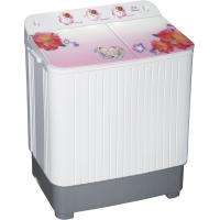 Buy cheap Semi Automatic Twin Tub Washing Machine , Portable Washer And Spin Dryer With Hidden Glass Panel from wholesalers
