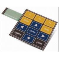Buy cheap Multi Key Prototype Tactile Membrane Switch Keyboard With 3M467 3M468 Adhesive from wholesalers