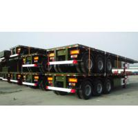 Buy cheap Electrical System 60 Ton Semi Trailer Trucks With 2 Legs And 12 Tires from wholesalers