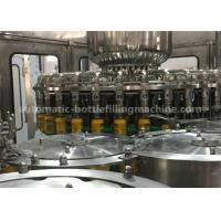 Buy cheap Rotary Automatic Juice Bottle Filling Machine Washer Filler Capper Monobloc Machine product
