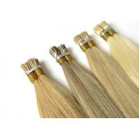 Buy cheap Natural Luster Pre Bonded Remy Hair Extensions 1g Without Any Chemical Treated from wholesalers