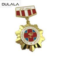 Buy cheap Custom Martial Arts sports award soft enamel gold metal medal 3D gold custom medal from wholesalers