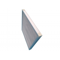 Buy cheap Aluminum Frame Mesh Metal G4 Pleated Panel Filter High Temperature product