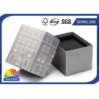 Buy cheap Custom Die - cut Foam Inserts 2 Piece Rigid Paper Box For Gifs Packaging from wholesalers