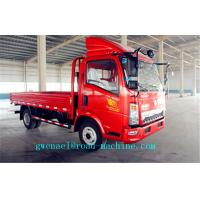 Buy cheap HOWO 4X2 4T Light Duty Commercial Trucks ,  Cargo Flatbed Truck from wholesalers