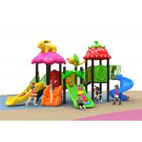 Buy cheap Summer Adventure Kids Outdoor Plastic Slide Red Color For 2 - 8 Years Old from wholesalers