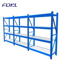 China Corrosion Protection Storage Steel Shelves , Industrial Free Standing Shelving on sale