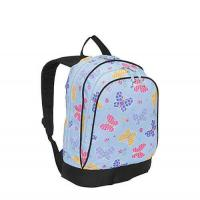 Buy cheap Polyester Printed Kids Custom Logo Backpacks Soft Weight For Teens Ultralight from wholesalers