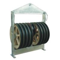 Buy cheap MC Nylon Pulley Blocks , 822mm Large Diameter Stringing Block 150KN from wholesalers