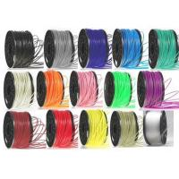 Buy cheap ABS 3mm Black Makerbot 3D Printer Filament , PLA / Nylon / Conductive 3D Filament product