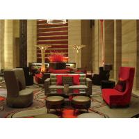 Buy cheap Red Hotel Waiting Room Furniture , Contemporary Reception Office Lobby Furniture from wholesalers