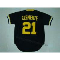 Buy cheap Pittsburgh Pirates 21 Roberto Clemente Throwback Jersey from wholesalers