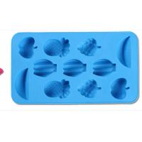 Buy cheap fruits shape silicone chocolate mold ,fruits shape silicone muffin cake molds product