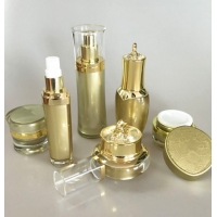 Buy cheap Luxury Acrylic Cosmetic Plastic Packaging For Moisture Lotion Cream Serum product