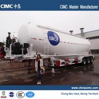 Buy cheap cimc tri-axle 60 tons cement silo trailer for sale from wholesalers