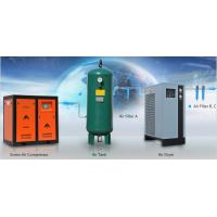 Buy cheap Direct drive rotary type 37KW double screw air compressor factory in China from wholesalers