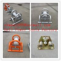 Buy cheap Cable roller  galvanized  Cable roller with ground plate product