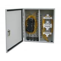 Buy cheap Outdoor 48 Fiber Distribution Box Wall Mount For Telecommunication from wholesalers