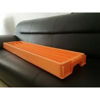Orange 55mm Rock Drill Core Trays , BQ NQ HQ PQ Size PE Rock Core Boxes