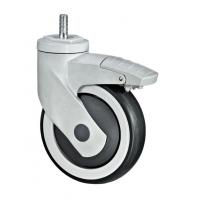 Buy cheap Nylon Bracket Hospital Bed Caster Wheel , Medical Trolley Caster Wheels from wholesalers