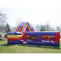 Buy cheap Ultimate Survivor Inflatable Floating Obstacle Course With Cliff Slide For Team Building from wholesalers