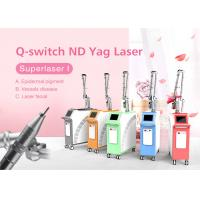 Buy cheap 1064nm 532nm Q-Switch Nd Yag Laser Machine for Pigmentation Removal Freckle Removal from wholesalers