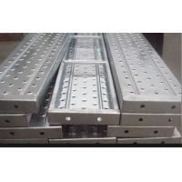 Buy cheap Recycled aluminum scaffold plank / platforms 2.4/1.8/1.2/0.73M*230*63*1.8mm from wholesalers