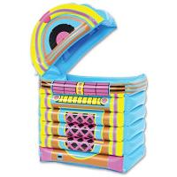 Buy cheap PVC Jukebox Cooler Inflatable Drinks Cooler Multicolor Beverage Bar 20 x 30.5 product
