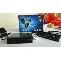 Buy cheap USB PVR ready satellite receiver with  one embedded multicrypt card reader and one common from wholesalers
