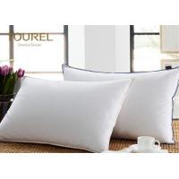 Buy cheap 4 - 5 Star Hotel Quality Pillows 30% Duck Down Pillows 50*80cm from wholesalers