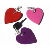 Buy cheap high quality factory price Eco-friendly Felt keychain factory from wholesalers