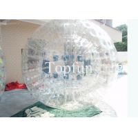 Buy cheap Roller Inflatable Zorb Ball Rolling Ball , Sports Toy Water / Grass Water Walking Ball  from wholesalers