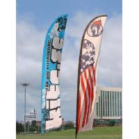 Buy cheap Outside Flying Advertising Feather Flags Banner With Aluminum Pole Double Sided Outside Flying Advertising Feather Flags from wholesalers