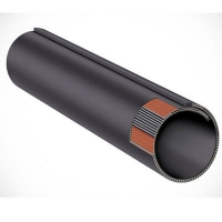 Buy cheap Anti Abrasive Dia100mm Dia150mm Pipe Conveyor Belt from wholesalers