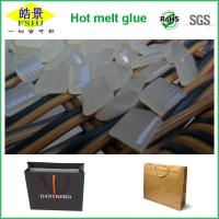 Buy cheap Fast Bonding Hot Melt Glue Adhesive For High Speed Handle Paper Bag Machine from Wholesalers