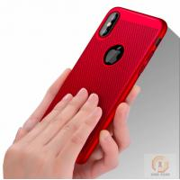 Buy cheap Heat dissipation Mesh Rubberized Hard PC phone back cover for iphone X case from wholesalers