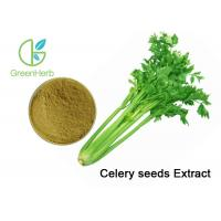 Buy cheap Professioanl Vegetable Extract Powder Celery Seed Extract 5:1 Brown Yellow Powder from wholesalers