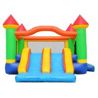 Buy cheap Commercial Inflatable Bouncer Combo / 0.55mm PVC Kids Bouncy Castle from wholesalers