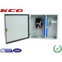 Buy cheap WM ODF Fiber Optic Terminal Box for Splitter , Wall Mount Fiber Termination Box Water-proof from wholesalers