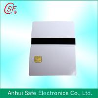 Buy cheap inkjet magnetic strip pvc card from wholesalers