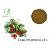 Buy cheap Enhance Liver Detoxification Fruit Extract Powder 9% Schisandra Chinensis Extract from wholesalers