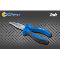 Buy cheap Flat Nose Pliers with satin chrome plated  For Jewelry Making Electrical Hand Tools pliers from wholesalers
