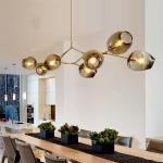 Buy cheap Vintage Glass Hanging Lamp Lighting Chandelier Pendant Light from wholesalers