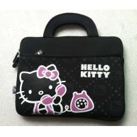 """Buy cheap Custom printed hello kitty neoprene laptop tote bag with handle up to 14""""inch,fleece inside, easy to take, hot sale. product"""