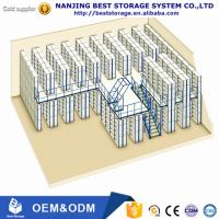Buy cheap Factory price Multi-level warehouse storage mezzanine racking system ISO9001 and CE certificated from wholesalers