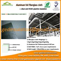 Buy cheap Aluminium Foil coated fiberglass cloth thermal insulation fabric from wholesalers