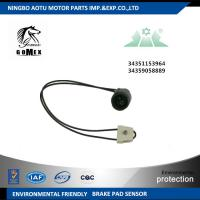 Buy cheap Front Axle 34351153964 34359058889 Disc Brake Wear Sensors For Automotive from wholesalers