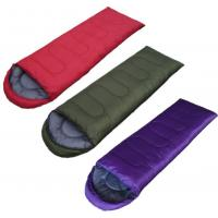 Buy cheap Blue / Red 3 Reasons Camping Sleeping Bag Nylon Fabric For Mountain Climbing from wholesalers